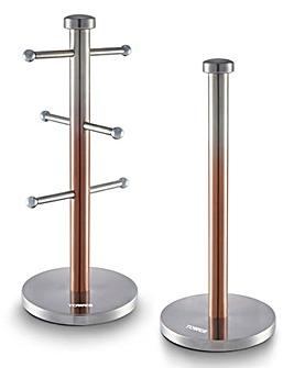Tower Infinity Ombre Mug Tree&Towel Pole