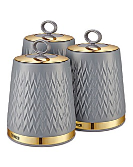 Tower Empire Set of 3 Canisters