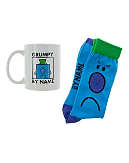 Mr Grumpy Mug and Socks Set