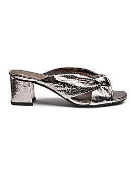Knotted Mule Sandal Extra Wide EEE Fit