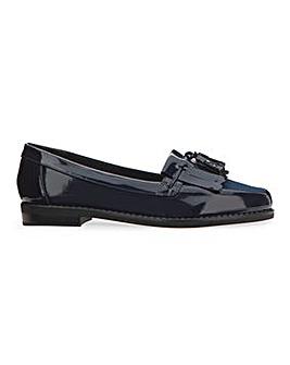 Flexi Sole Tassel Loafers Wide E Fit