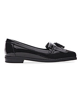 Flexi Sole Tassel Loafers Wide E Fit