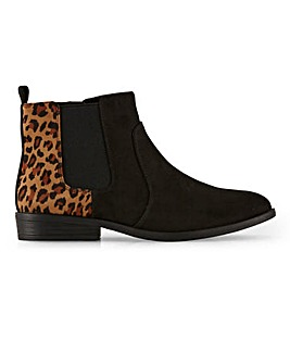 Chelsea Ankle Boots With Inside Zip Wide E Fit