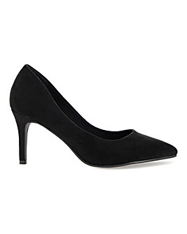 Ultimate Comfort Pointed Toe Court Shoes Extra Wide EEE Fit