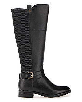 Leather Boots E Fit Curvy Calf