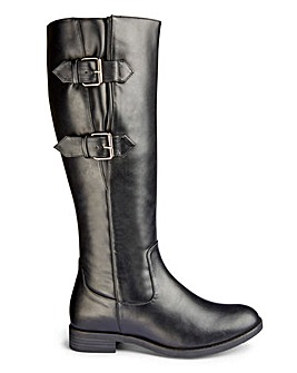 Buckle Boots E Fit Super Curvy Calf