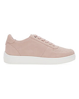 Punch Detail Lace Up Leisure Shoes Extra Wide EEE Fit