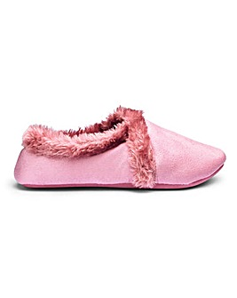 Soft Warm Lined Slippers E Fit