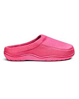 Soft Closed Toe Mule Slippers E Fit