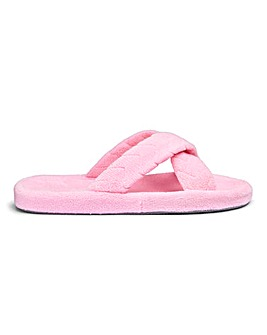 Crossover Mule Slippers E Fit