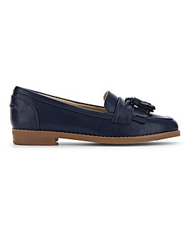Flexi Sole Tassel Loafers Extra Wide EEE Fit