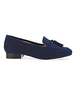 Flexi Sole Tassel Loafers E Fit