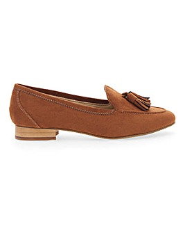 Flexi Sole Tassel Loafers EEE Fit