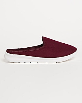 Leisure Style Mule Slippers Extra Wide EEE Fit