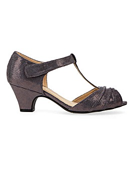 Occasion T Bar Shoes EEE Fit