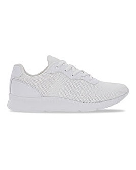 Lace Up Trainers Wide E Fit