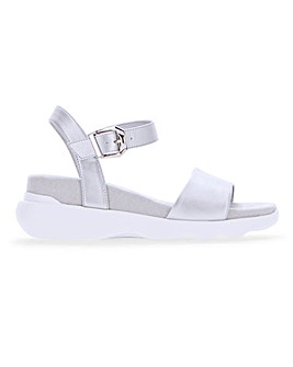 Casual Footbed Sandals Wide E Fit