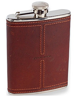 Smith & Canova 6oz Hip Flask W-captive
