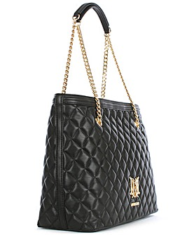 Love Moschino Chain Handle Quilt Shopper