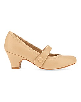 Mary Jane Bar Shoes E Fit