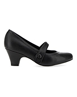 Mary Jane Bar Shoes Wide E Fit