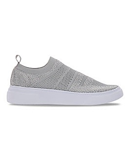 Heavenly Feet Slip On Leisure Shoes Wide E Fit