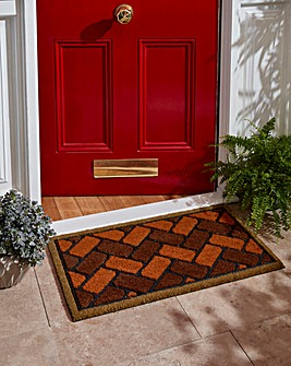 Hardwearing Coir and Rubber Entrance Mat