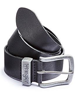 Wrangler Stitched Black Belt