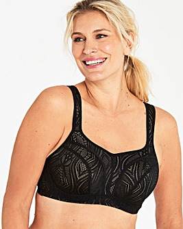 Panache Hi Impact Black/Latte Sports Bra