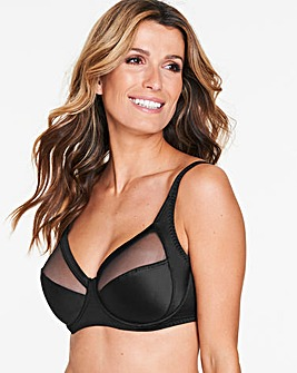 Playtex Perfect Silhouette Black Bra