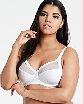 Playtex Perfect Silhouette Full Cup White Bra