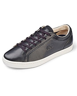 Lacoste Straightset Soft Leather Trainers