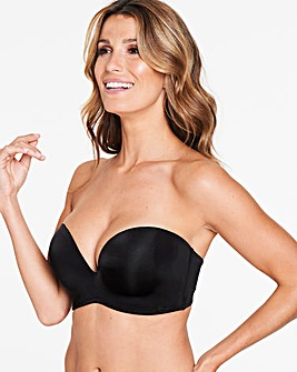 Wonderbra Ultimate Black Strapless Bra