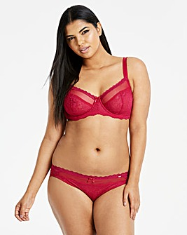 Dorina Curves Maureen Red Full Cup Bra
