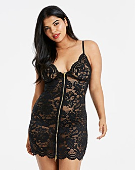 Ann Summers Taylor Black Chemise