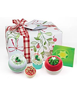 Bath Bomb Christmas Wishes