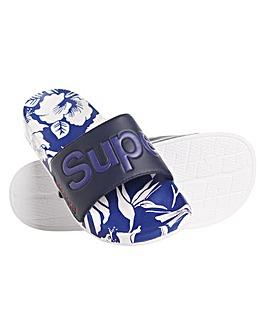 Superdry Printed Beach Slide
