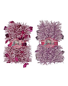 Hello Kitty Pack of 2 Tinsel Garlands