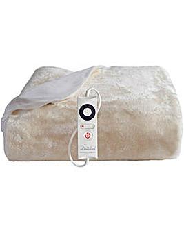 Intelliheat Faux Fur Mattress Protector