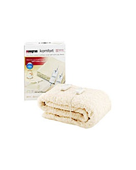 Dual Control Heated Mattress Cover