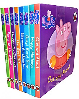 Peppa Pig Children Picture 8 Board Books