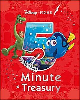 Pixar 5 Minute Treasury Book