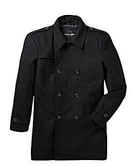 Jacamo Black Label Wool Trench Coat R
