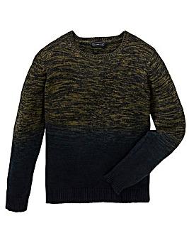 Label J Dip Dye Knit Long