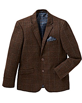 Jacamo Black Label Herringbone Blazer L