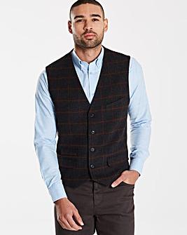 Jacamo Black Label Wool Waistcoat L