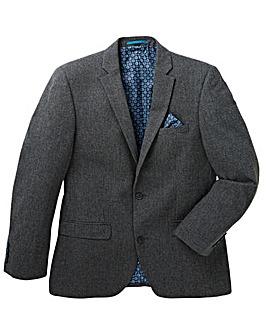 Black Label Puppytooth Wool Blazer Regular