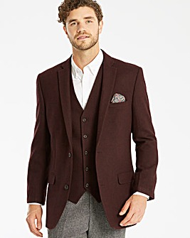 Jacamo Tweed Wool Blazer L