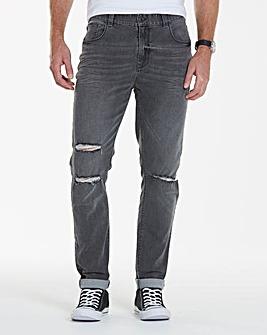 Label J Ripped Skinny Jean 31In