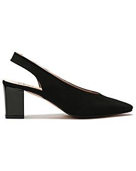 DF By Daniel Davette Suede Court Shoes